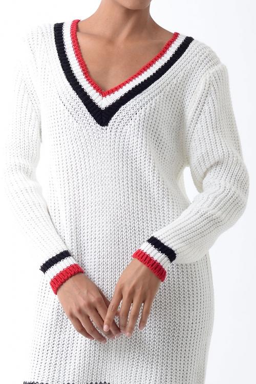 Stylish Knitted Jumper Dress