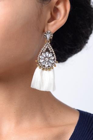 Stylish Tassels Earrings